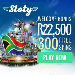 Sloty Casino is now Open to South African Players